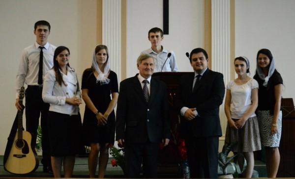Молодь з рівненщини служила в церквах